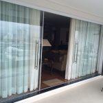 Portas de vidro deslizantes