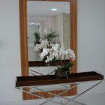 Espelho do hall social
