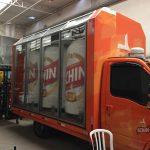 Schin truck expositor de vidro