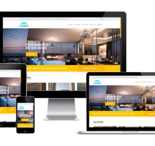 Lançamento do novo site da LuGlass Vidros